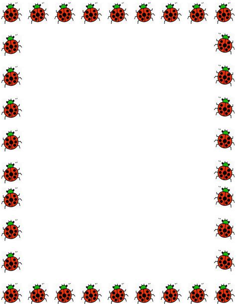 printable borders with flowers free stationery paper free printable stationary border