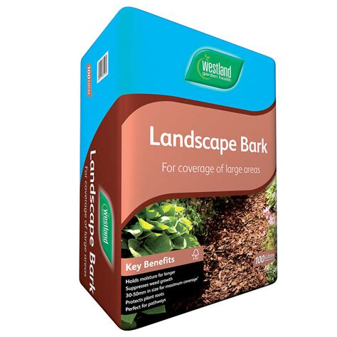 Garden Accessories B M by B M Landscape Bark 100l 295029 B M