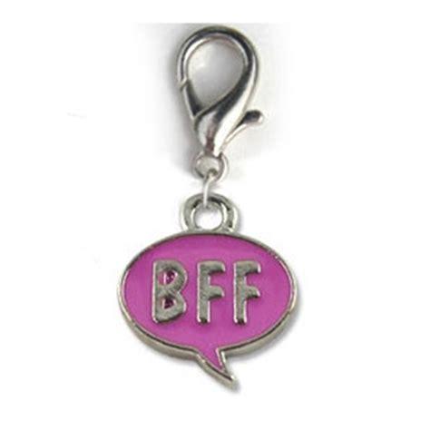 bff collar charm pink baxterboo