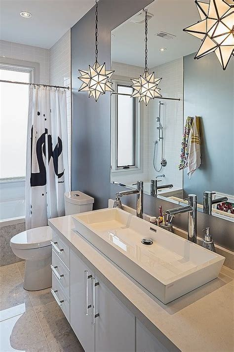 Ideas Design For Bathroom Trough Sink 25 Creative Modern Bathroom Lights Ideas You Ll Digsdigs