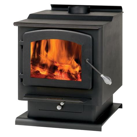 Summers Plumbing Heating And Cooling Reviews by Shop Summers Heat 2400 Sq Ft Wood Burning Stove At Lowes