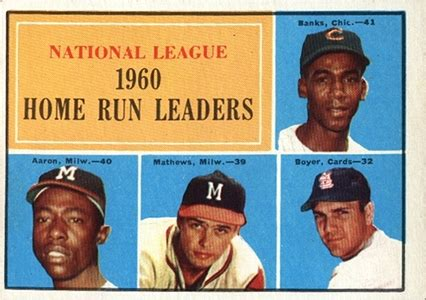 complete guide to vintage topps hank aaron baseball cards