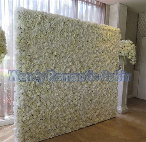 Wedding Backdrop Stand Rental by White Wedding Flower Wall Flower Backdrop With Aluminum
