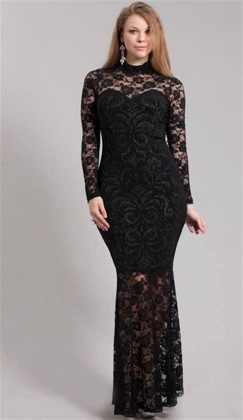details about plus size black sparkling mesh lace mermaid