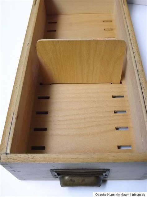 karteikarten kasten karteikasten holz alt karteikarten kasten trennbrett b 252 ro