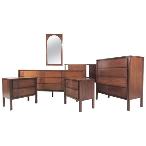 gorgeous mid century modern bedroom set mid century modern interior door styles mid century wood stylish mid century modern seven piece bedroom set for