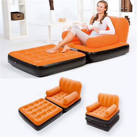 air mattress pull out sofa car styling inflatable pull out sofa couch full single air