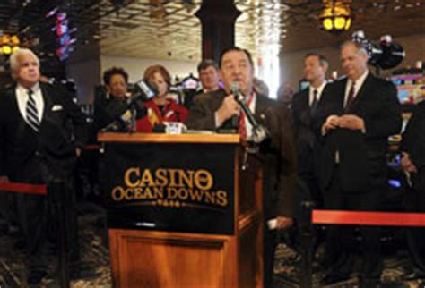 ocean downs casino poised for record month maryland maryland opens ocean downs slots parlor at 45m cost
