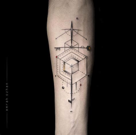abstract tattoo designs for men 40 geometric designs for and abstract