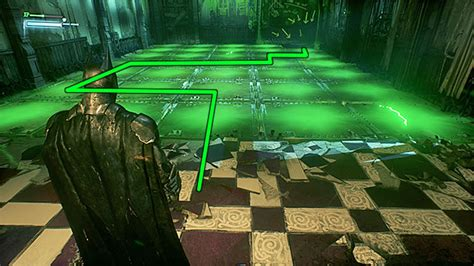 the riddler room eighth riddler trial batman arkham guide walkthrough gamepressure