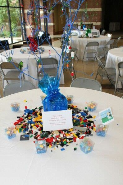 lego centerpieces centerpiece for lego themed wedding wedding ideas