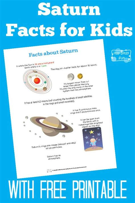 saturn info for saturn facts for for planets and facts