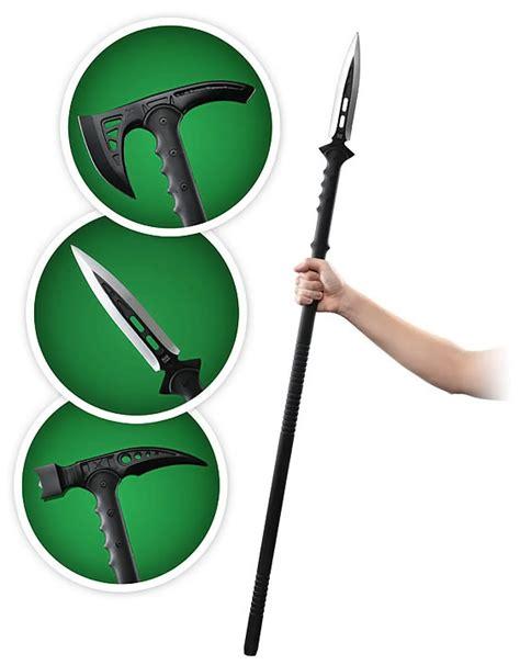 best survival spear m48 tactical survival series spear hammer axe