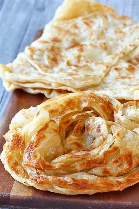 malaysian flatbread roti canai recipe food recipes