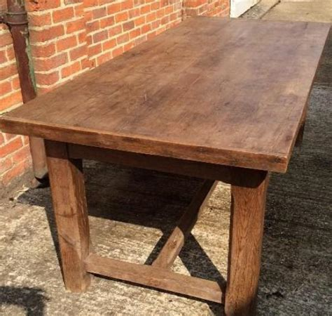 rustic farmhouse dining table for sale antique oak rustic hstretcher farmhouse table for sale