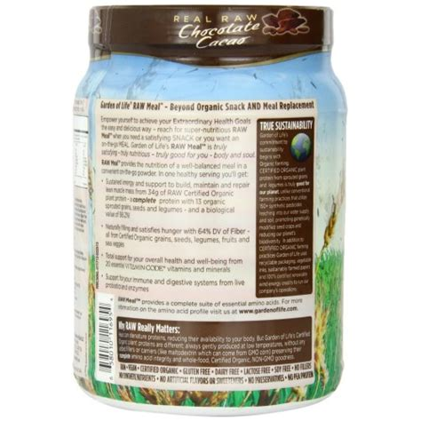 Garden Of Organic Meal Chocolate by Garden Of Organic Meal Chocolate Cacao 1212 Gm