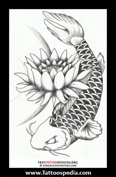 tattoo koi fish lotus flower meaning tony baxter