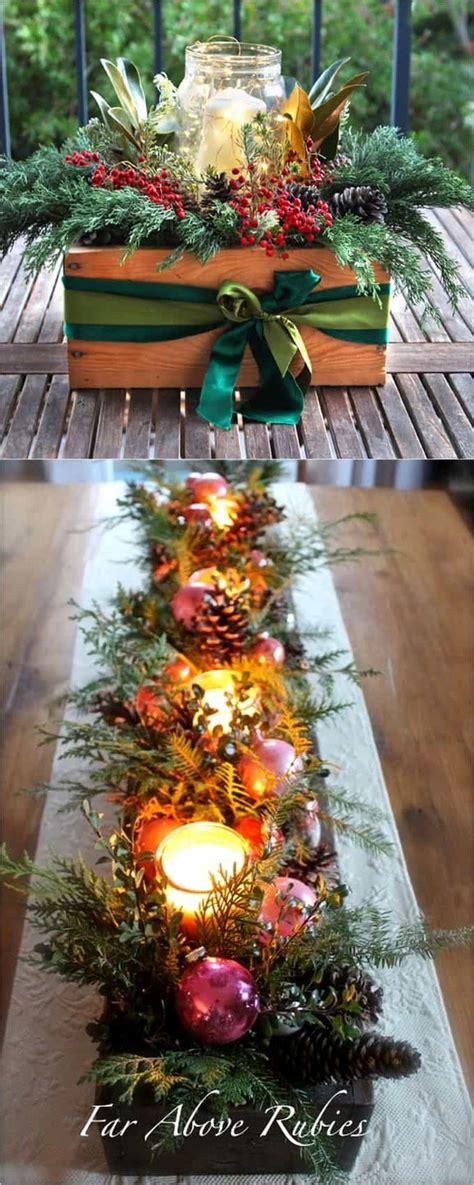 xmas tree table arrengment images 27 gorgeous diy thanksgiving table decorations centerpieces hometalk diy