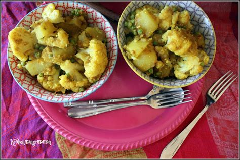 cuisine norv馮ienne aloo gobi au multi cuiseur blogs de cuisine