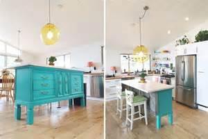 vintage kitchen islands transformed vintage dresser to kitchen island nesting