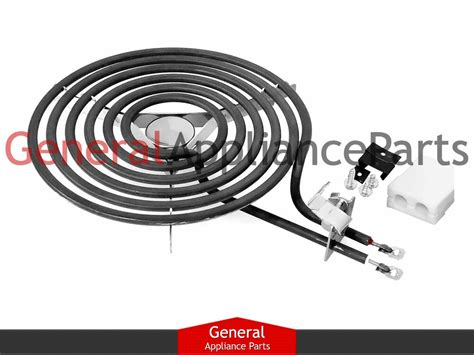 hotpoint cooktop parts ge hotpoint range stove cooktop 8 quot burner heating element