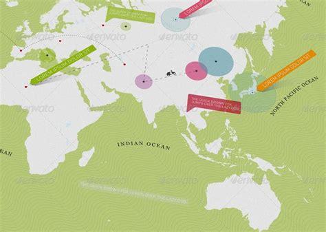 minimal world map 20 powerful infographic design kits