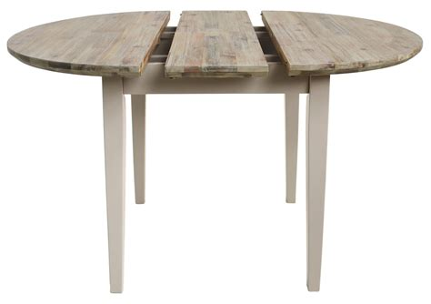 Extending Kitchen Table Florence Extending Table 92 117cm Kitchen Dining Table Brushed Acacia Top Ebay
