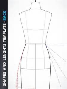 design a dress template fashion design skirt and dress drawing template front