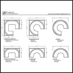 Circle Couch Chair Table Sizes And Seating Floor Plans Booths Tables Bars