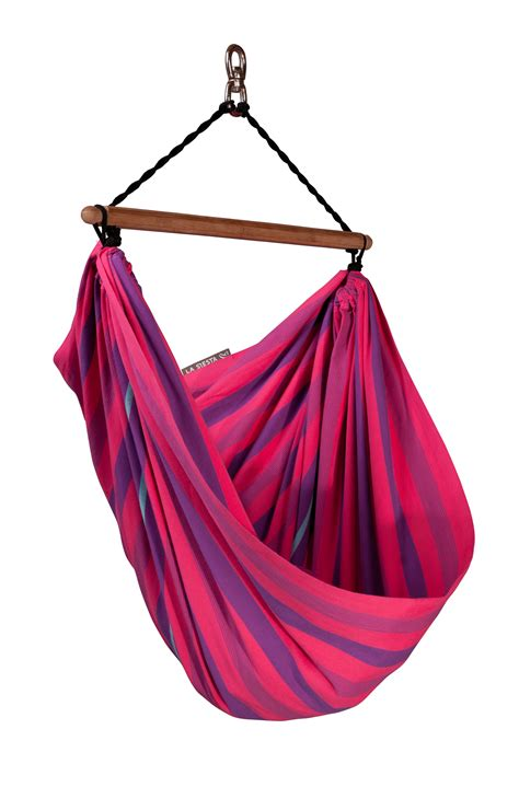 kids hammock swing chair kid s hammock chair made of organic cotton lori by la siesta