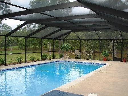Enclosed Backyard Pools Pool Enclosures Backyard Paradise