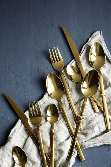 ikea besteck gold 25 best ideas about gold cutlery on gold