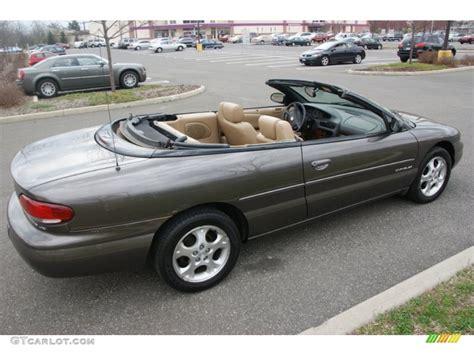 2000 Chrysler Sebring Jxi Convertible taupe metallic 2000 chrysler sebring jxi convertible