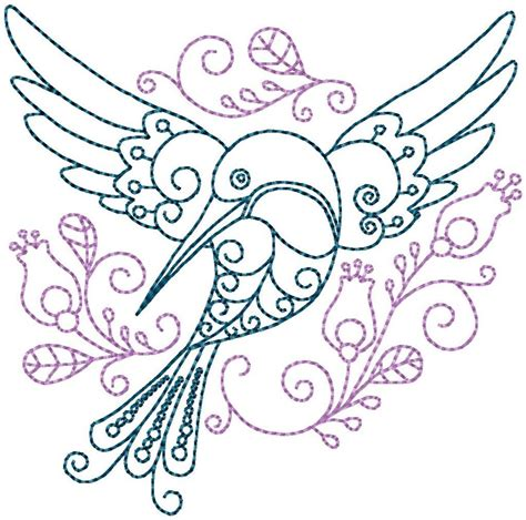 embroidery pattern name hummingbird 5 hand embroidery pattern by stitchx 2 craftsy