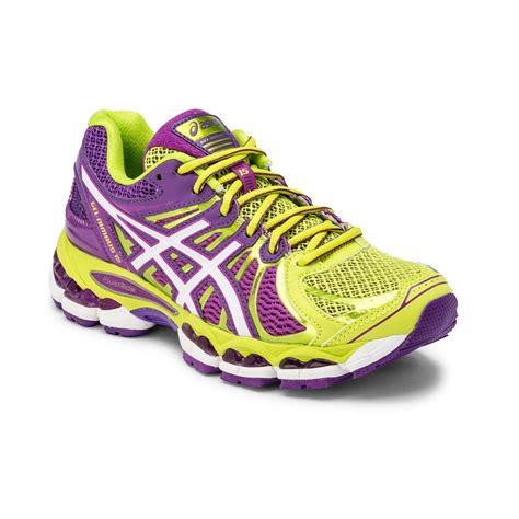 21 asics gel nimbus 15 womens running shoes lime