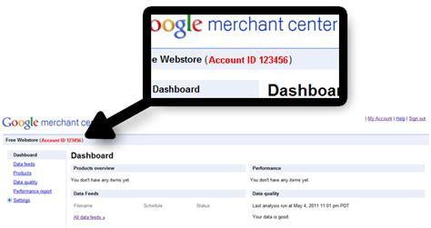 How To Find On Gmail How To Find Your Merchant Center Account Id Free Webstore Help Guide