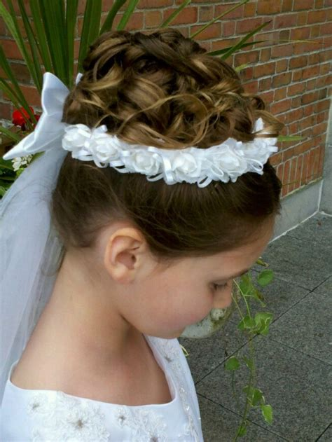 First Communion Hairstyles That Make For Great Memories ? Fresh Design Pedia