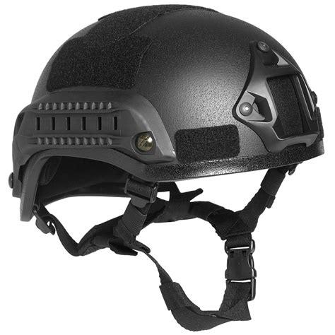 New Helmet Special Black Size M Nyaman mil tec us combat quot m i c h 2001 quot railed helmet black helmets 1st