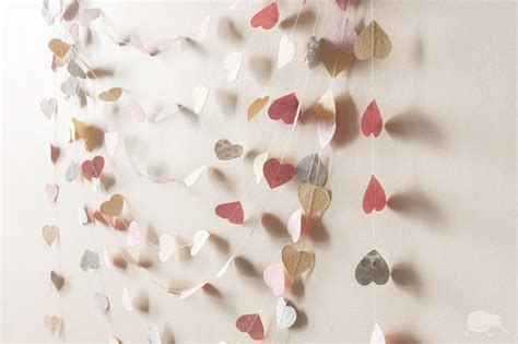 Recycled Wedding Decorations by Recycled Wedding Decor Paper Garland