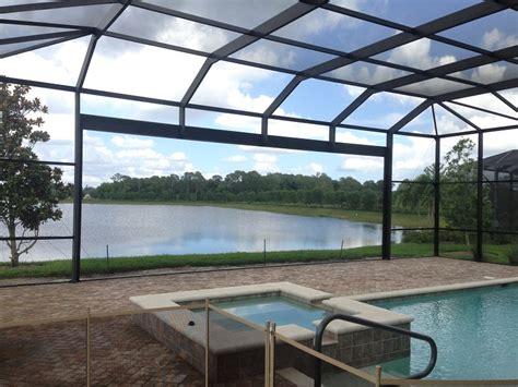 patio screen enclosure ultrascreen patio screen enclosures florida swimming