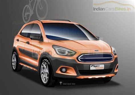 ford crossover 2016 render imagining a 2016 ford figo crossover motoroids