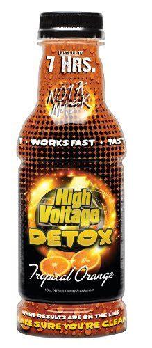 Reviews On High Voltage Detox Drink by High Voltage Detox Drink 16oz Tropical Orange Health