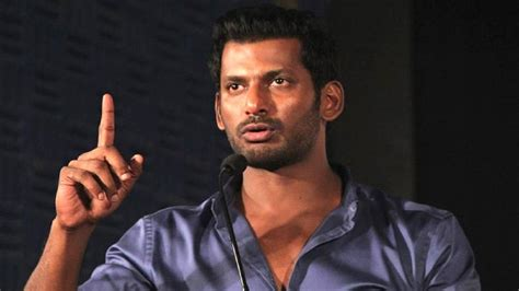 actor vishal life tamil actor vishal s production house raided a day after