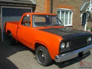 1972 Dodge Truck 1972 Dodge D100 400 6 6 V8 Orange Mopar