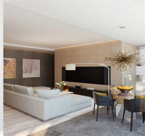 salon moderne design en 47 id 233 es par alexandra fedorova - Le Modern Wohnzimmer
