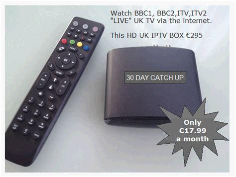 brit box tv uk british tv via internet iptv boxes for spain mag250