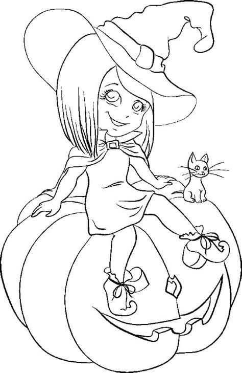 Dibujos Halloween para colorear, imprimir y recortar