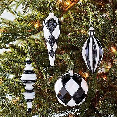 beautiful black white christmas decor collection on ebay