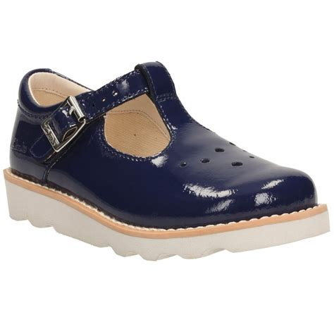 t shoes clarks crown pop infant patent t bar shoes charles clinkard
