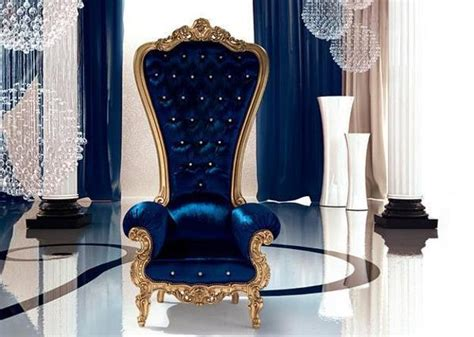 Throne Armchair by Fabulous Classic Chairs With Carved Wood Frames And